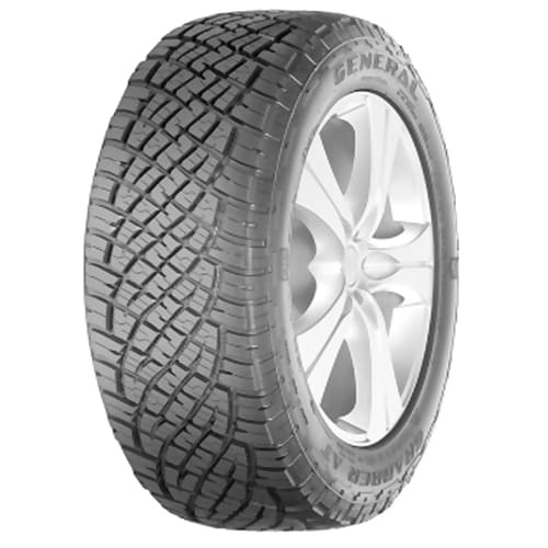 Neumaticos GENERAL TIRE GRABBER  AT 225/70 R15 100S Mini Foto 1
